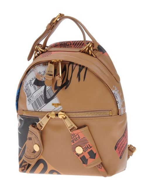 Moschino - Brown Backpacks & Bum Bags - Lyst