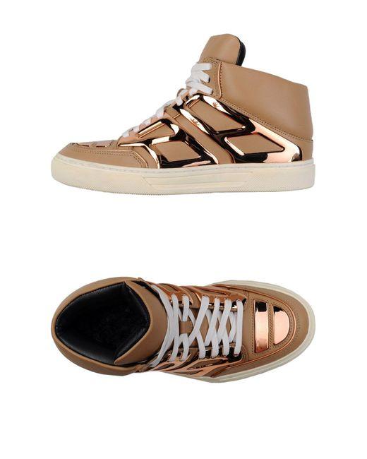 Alejandro Ingelmo - Brown High-tops & Sneakers - Lyst