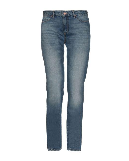 Wrangler Blue Denim Pants