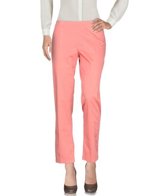 Aspesi - Pink Casual Pants - Lyst