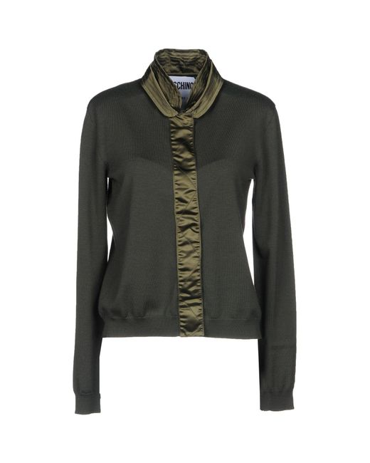Moschino - Green Cardigan - Lyst