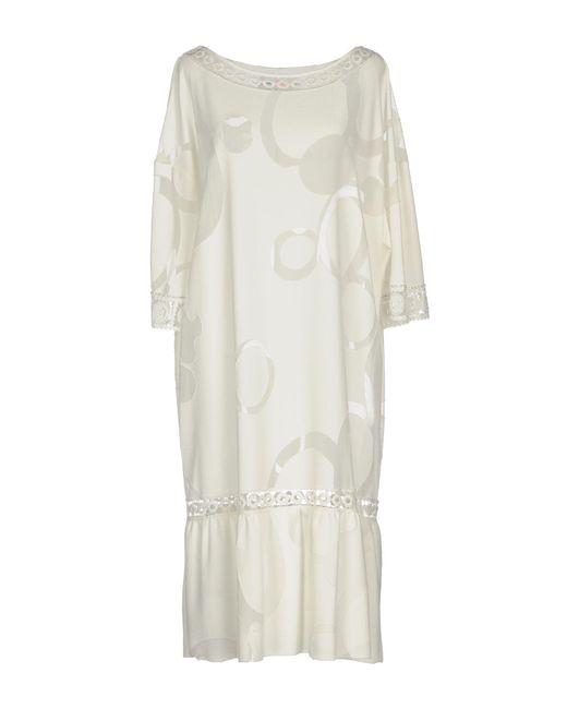 Severi Darling - White Short Dresses - Lyst
