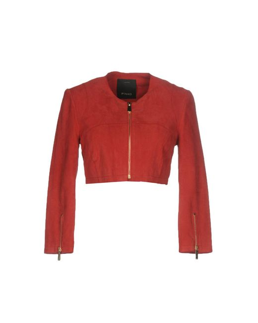 Pinko - Red Jackets - Lyst