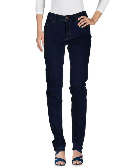 Armani Jeans | Blue Denim Pants | Lyst