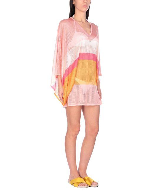 Emilio Pucci - Pink Vestido de playa - Lyst