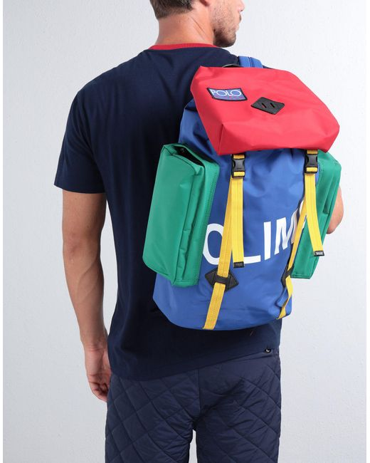 fbccbdb9fd43 Polo Ralph Lauren Hi-tech Climb Backpack in Blue for Men - Save 55 ...