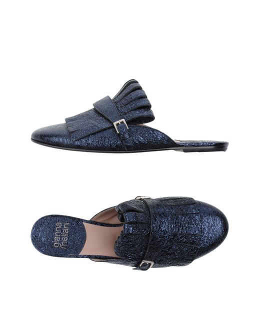 Gianna Meliani - Blue Mules - Lyst