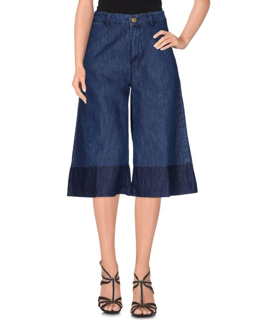 Space Style Concept   Blue Denim Trousers   Lyst