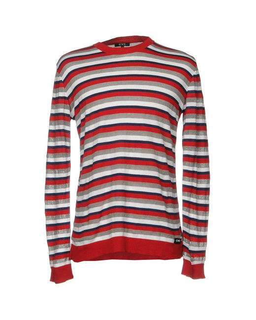 CoSTUME NATIONAL - Red Sweaters for Men - Lyst
