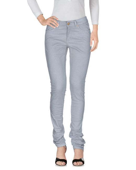 Superfine - Gray Denim Pants - Lyst