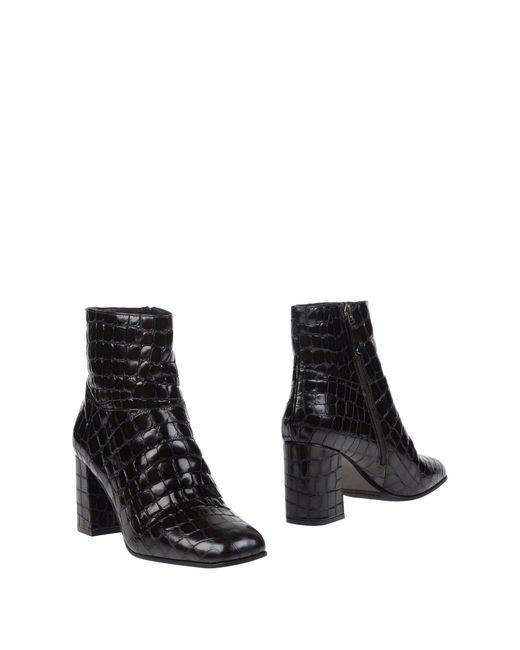 Elvio Zanon | Brown Ankle Boots | Lyst