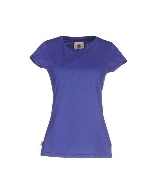 Franklin & Marshall | Purple T-shirt | Lyst