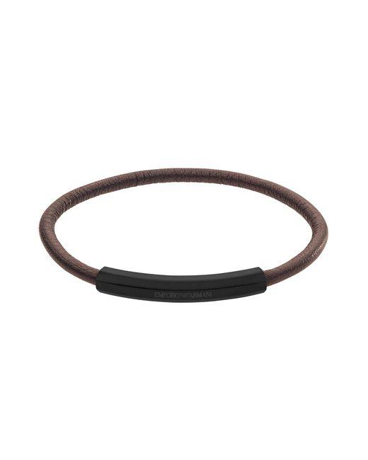 Emporio Armani - Brown Bracelet - Lyst