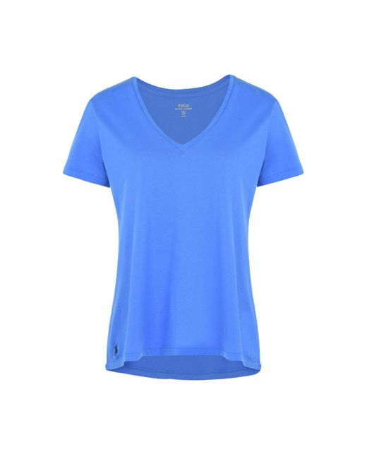 Polo Ralph Lauren - Blue T-shirt - Lyst