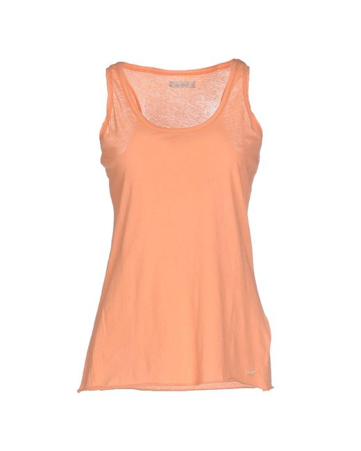 40weft - Pink Tank Tops - Lyst