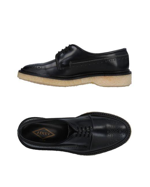 Adieu - Black Lace-up Shoe for Men - Lyst