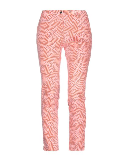 Pinko - Orange Casual Trouser - Lyst