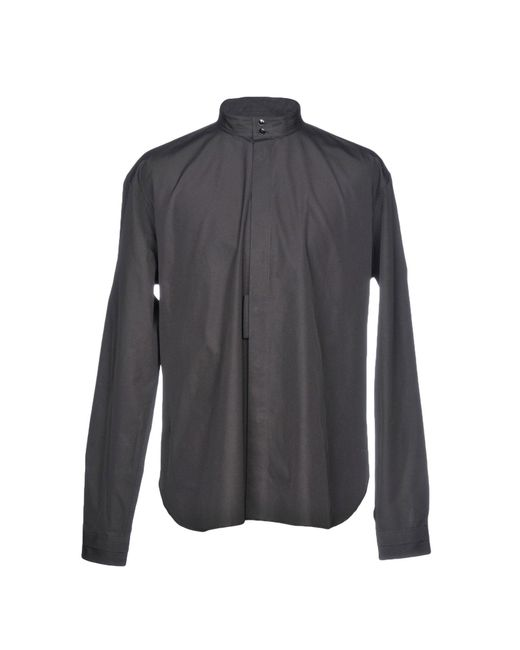 Saint Laurent - Black Shirt - Lyst