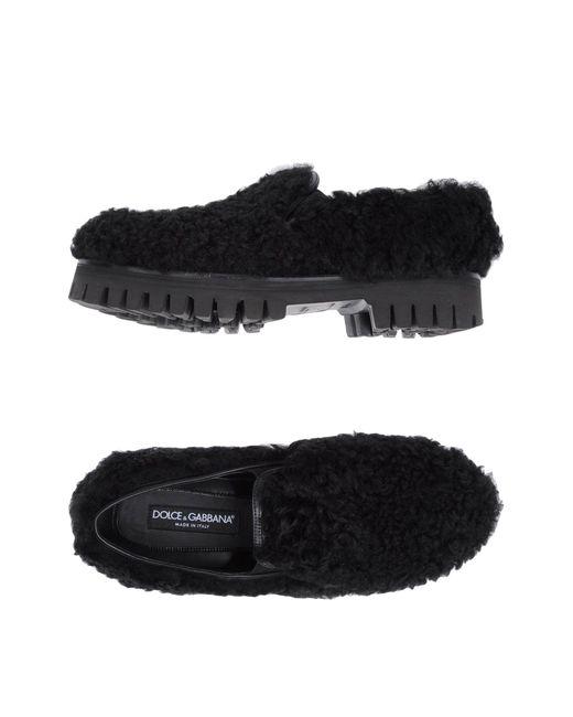 Dolce & Gabbana - Black Loafers for Men - Lyst