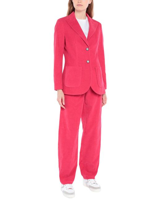 Attic And Barn Pink Women's Suit