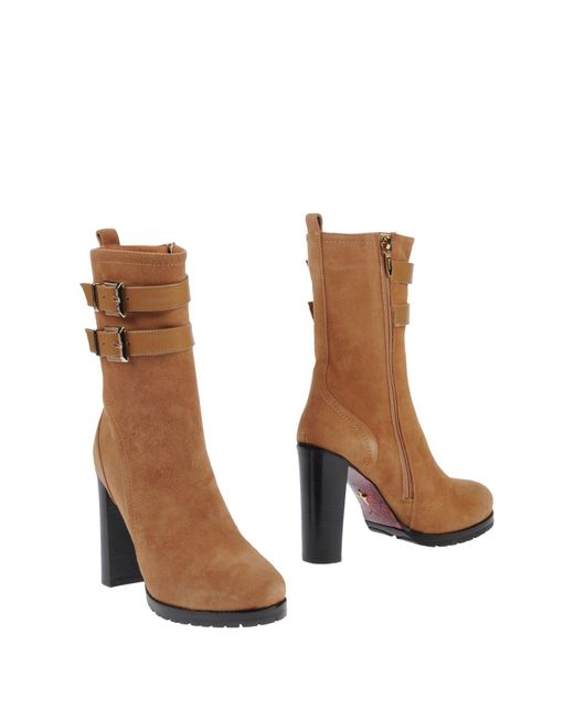 Cesare Paciotti - Natural Ankle Boots - Lyst