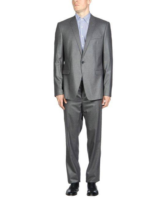 Emporio Armani | Gray Suit for Men | Lyst