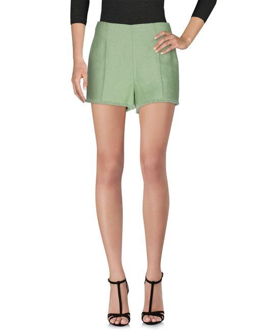 Ermanno Scervino - Green Shorts - Lyst