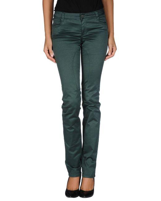 Siviglia - Green Casual Trouser - Lyst
