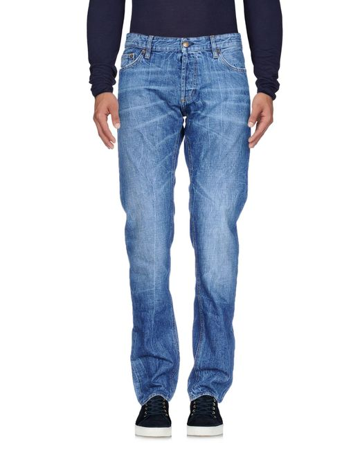 Mauro Grifoni - Blue Denim Pants for Men - Lyst