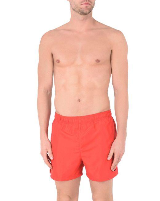 9dfb2c6588 ... Nike - Red Swim Trunks for Men - Lyst