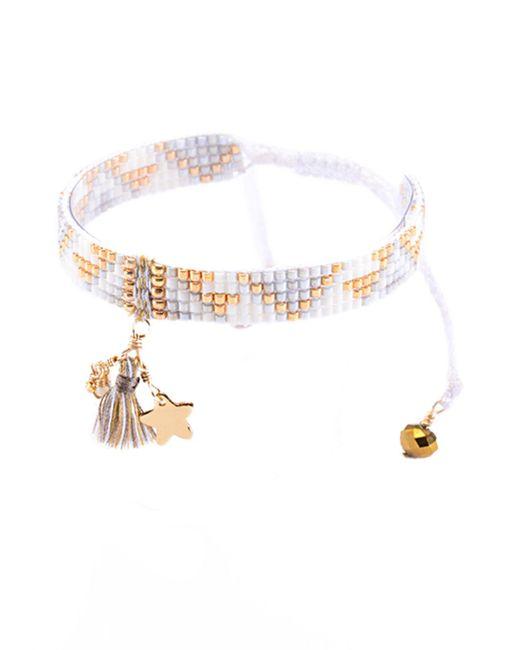 Mishky | White Bracelet | Lyst