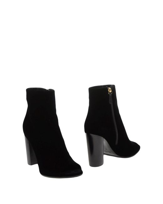 Lella Baldi - Black Ankle Boots - Lyst