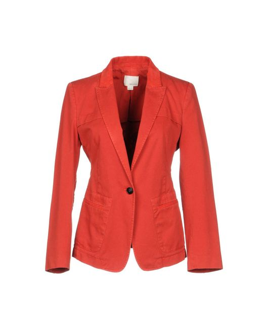 Band of Outsiders - Red Blazer - Lyst