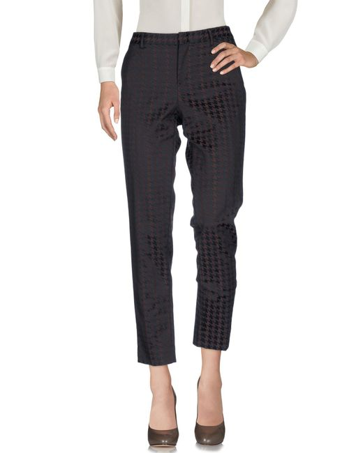 PT01 - Brown Casual Trouser - Lyst