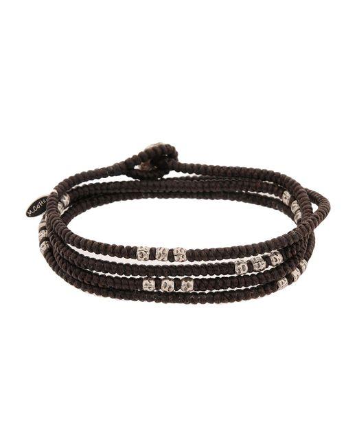 M. Cohen | Brown Bracelet for Men | Lyst