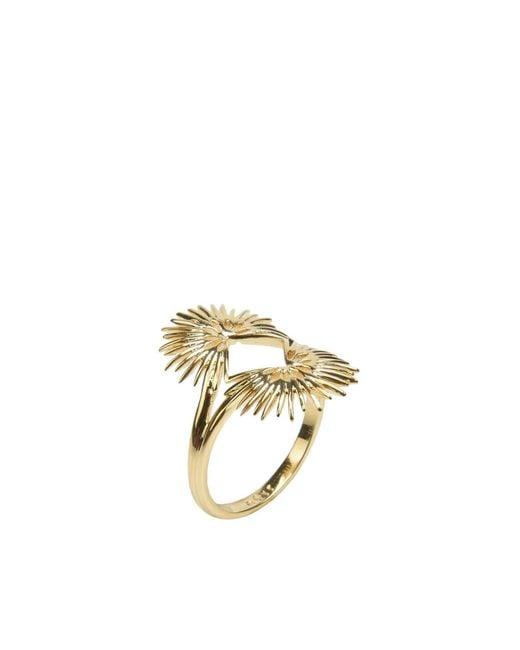 Noir Jewelry   Metallic Ring   Lyst