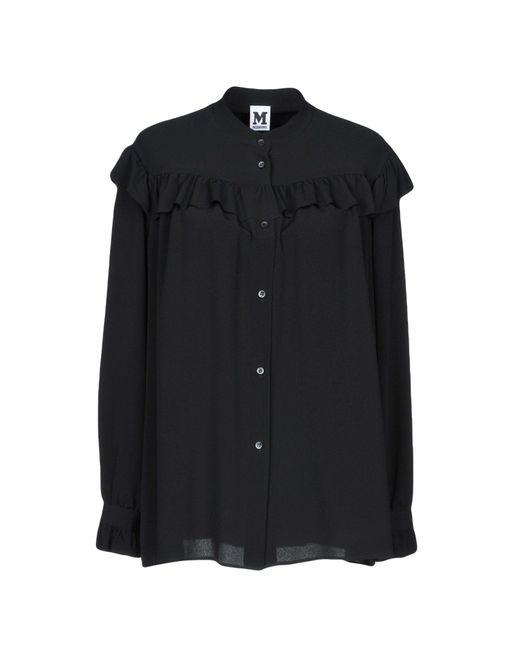 M Missoni - Black Shirt - Lyst
