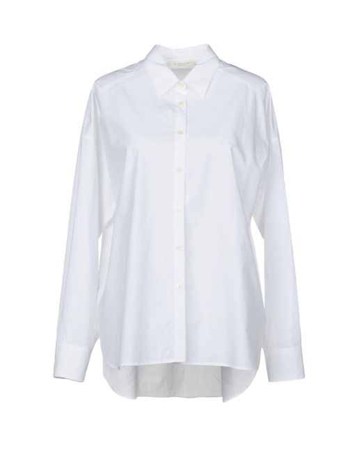 Glanshirt - White Shirts - Lyst