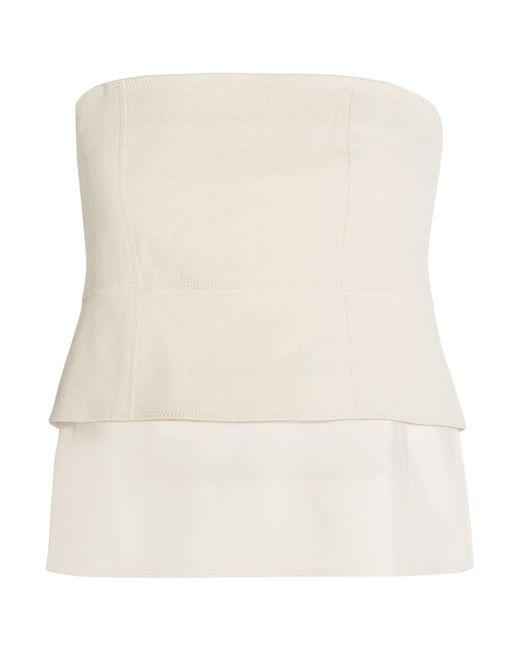 Top Donna Karan en coloris White