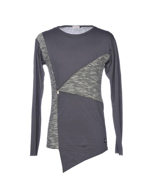X-cape - Gray T-shirt for Men - Lyst