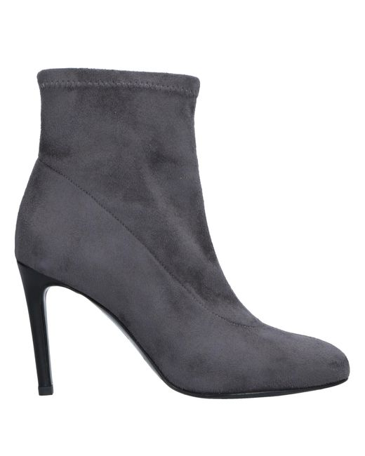 Gianni Marra - Gray Ankle Boots - Lyst