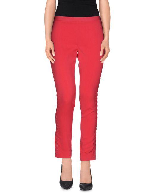 Beayukmui - Pink Casual Trouser - Lyst