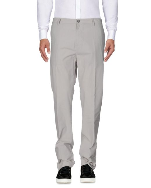 Mauro Grifoni - Gray Casual Pants for Men - Lyst