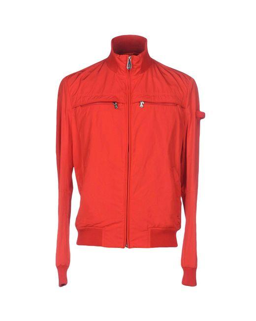 Peuterey - Red Jacket for Men - Lyst