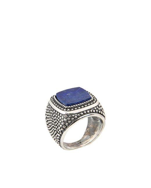 Emanuele Bicocchi - Blue Ring for Men - Lyst