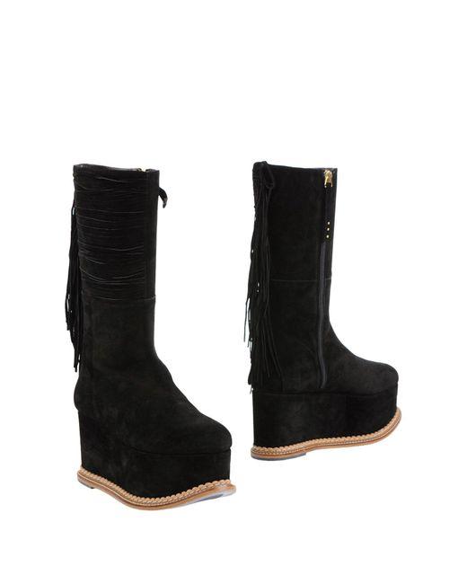 Paloma Barceló | Black Boots | Lyst