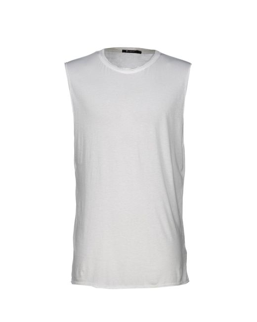 T By Alexander Wang - White T-shirt for Men - Lyst