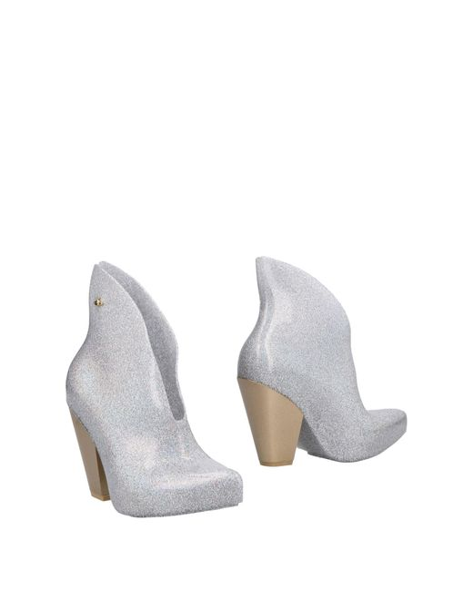 Vivienne Westwood Anglomania - Gray Ankle Boots - Lyst
