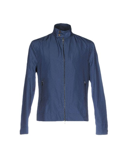 Michael Kors | Blue Jacket for Men | Lyst