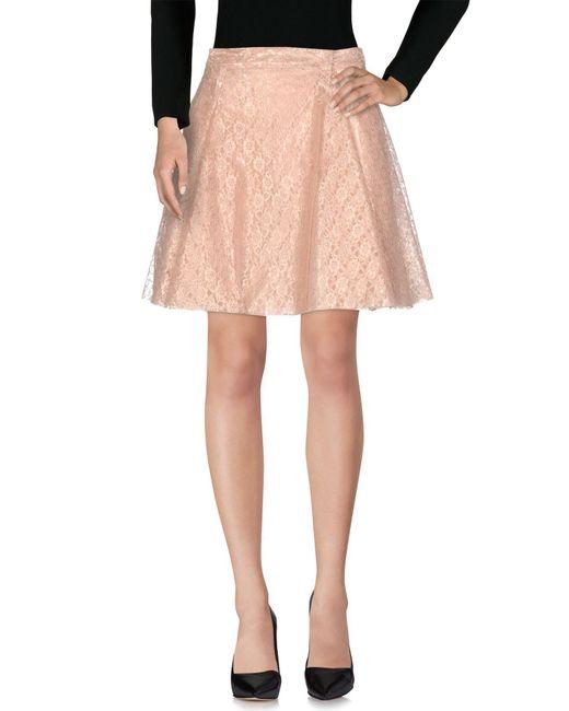 Philosophy Di Lorenzo Serafini - Pink Knee Length Skirt - Lyst